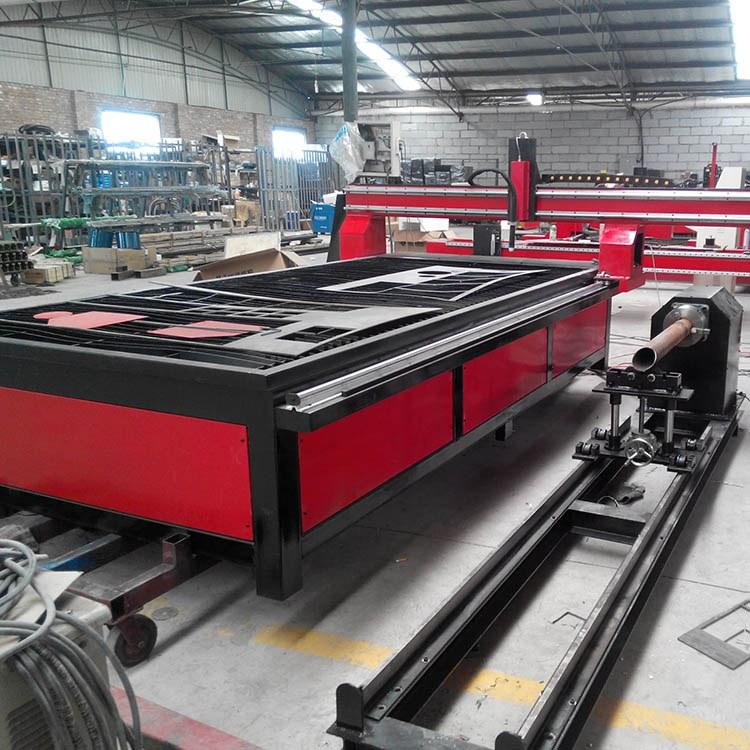 程煤台式管板切割机 等离子火焰切割机 全自动下料机械设备直销