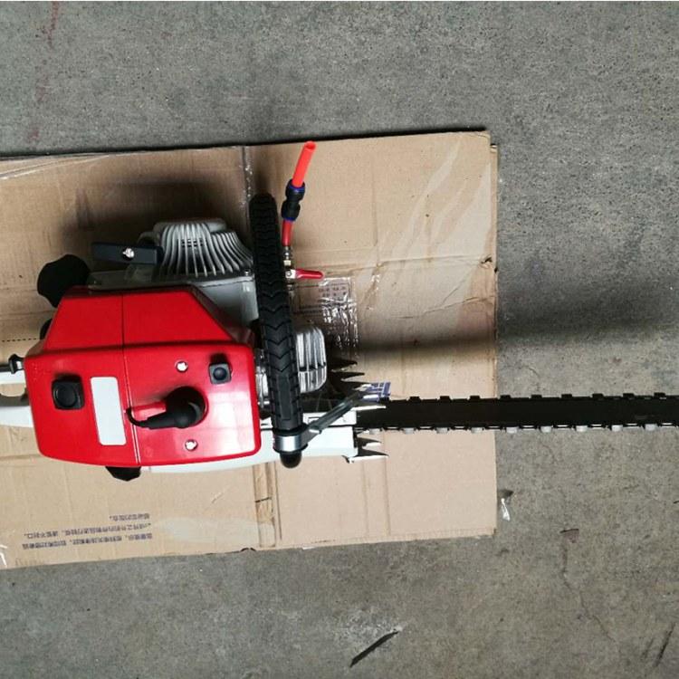 程煤电链锯 矿用石头气动切割链锯 充电式锂电链条锯直销