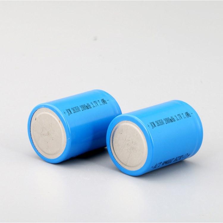 佳创铭26350锂电池 3.7V2000mah充电电池