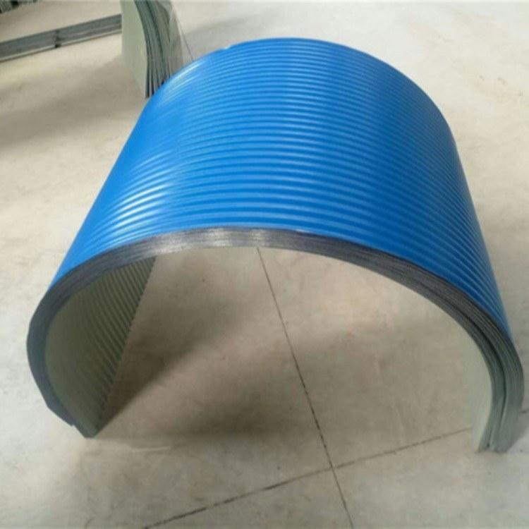 坊宇彩钢防雨罩0.5mmB800彩钢防雨罩厂家