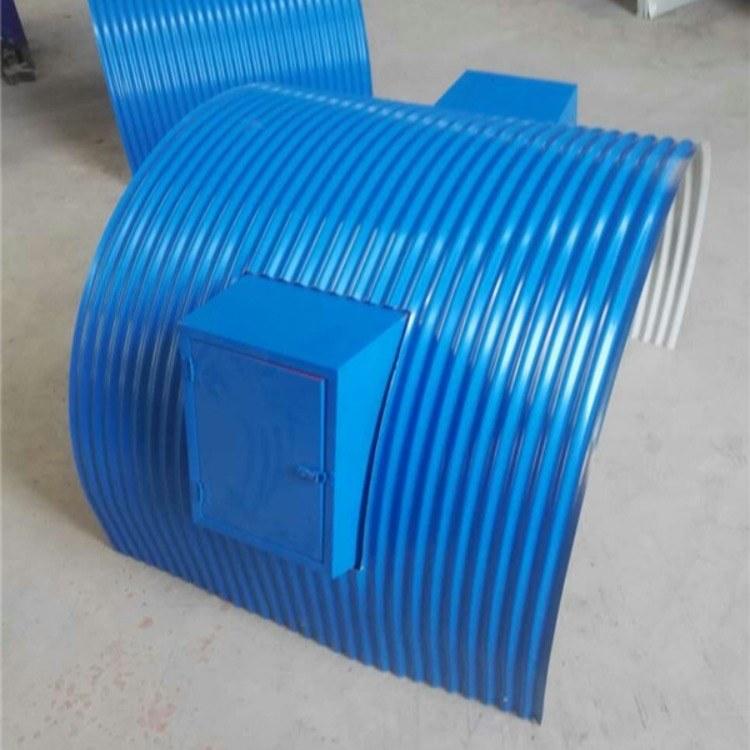 坊宇彩钢防雨罩0.5mmB1400彩钢防雨罩厂家