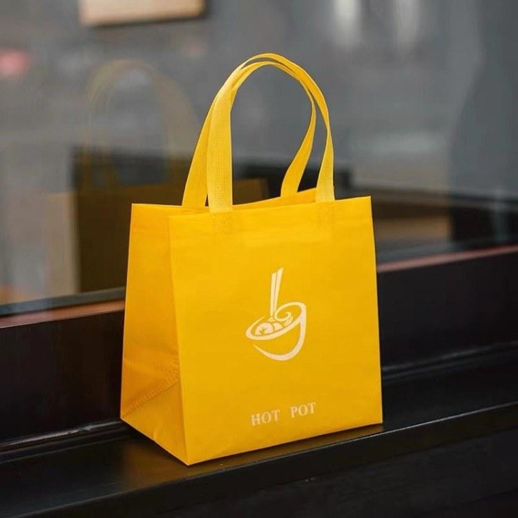 定制无纺布手提袋彩印广告袋子服装鞋包购物袋各类印刷品定做