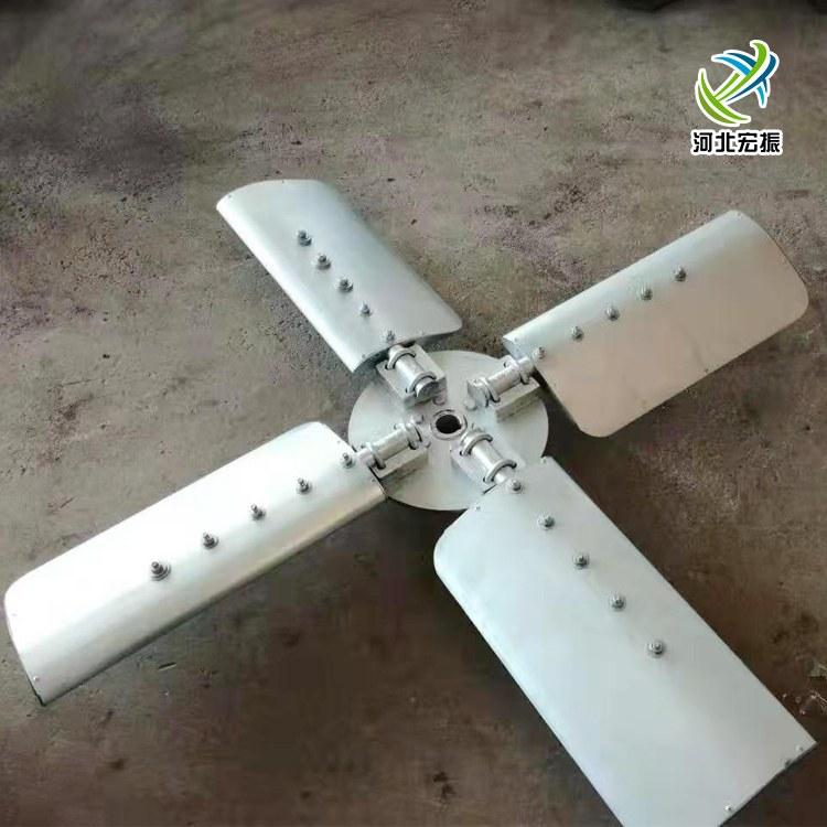 【宏振】玻璃钢风机风叶 防腐耐酸碱玻璃钢叶轮