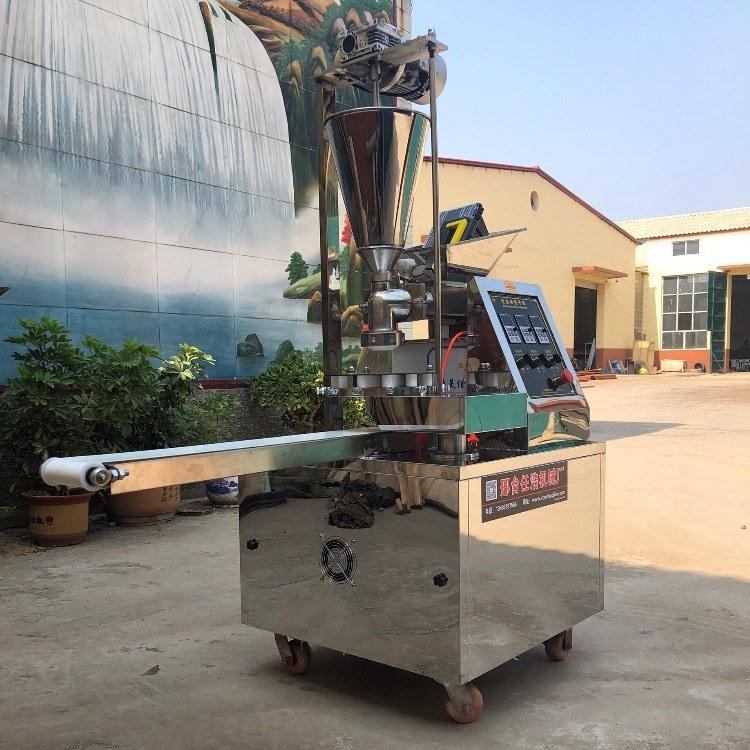 任浩机械全自动多功能仿手工包子馒头一体机、新型糍粑馅饼机、小型不锈钢包子成型机