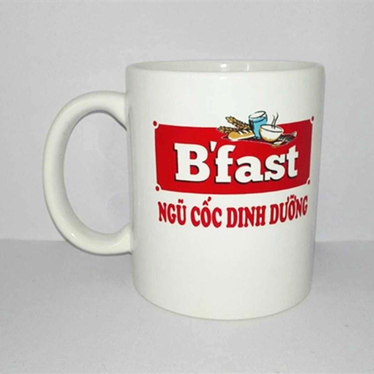 陶瓷杯定制 创意实用单层陶瓷杯 供应广告促销加印logo定制 定做批发