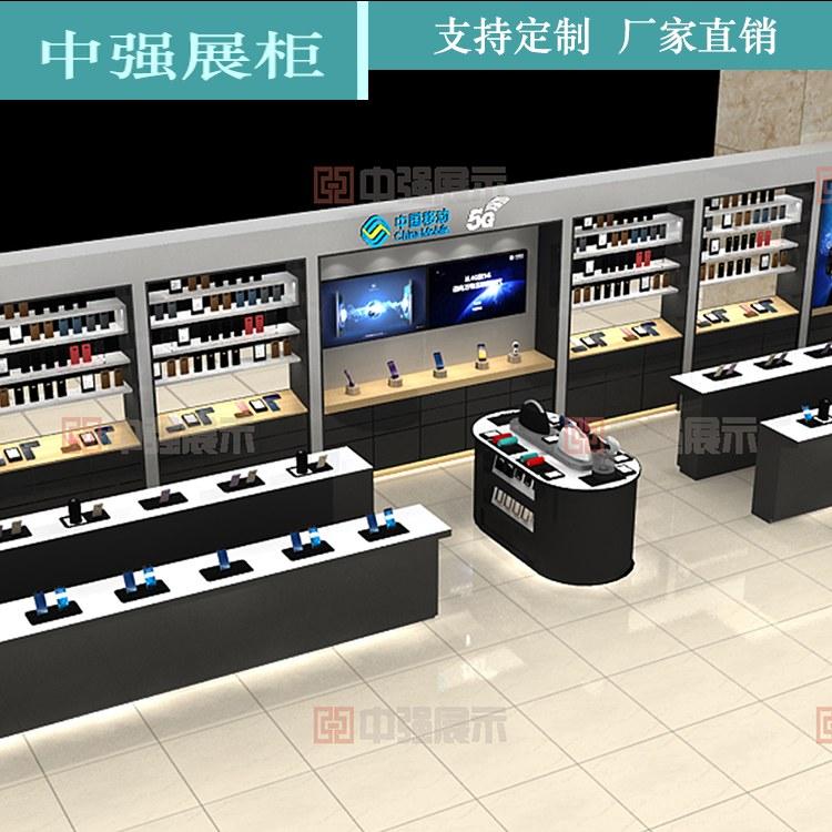 手机电脑配件柜 简约配件柜玻璃柜台展柜货架展示架展示柜 厂家直销 中强