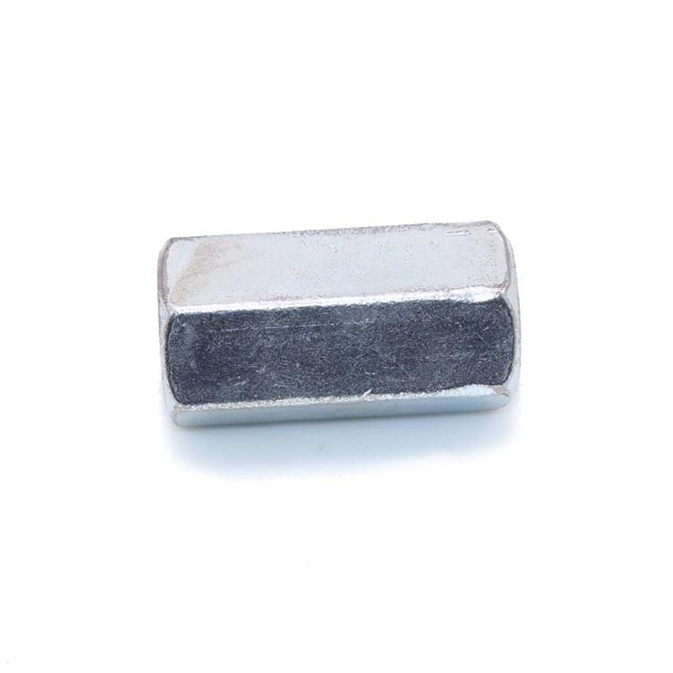 致丰紧固件 接头螺母厂家  镀锌国标螺母6*20   质量保障