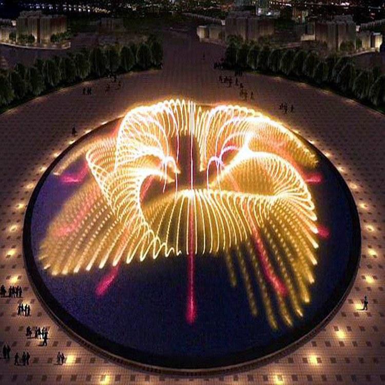 大型音乐喷泉上门施工安装 喷泉设备制造商 创荣园林
