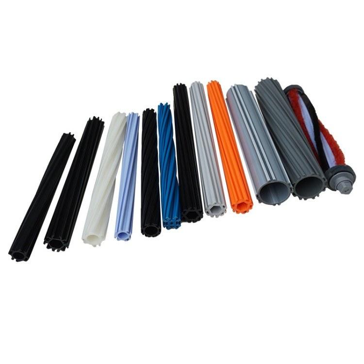 毛刷 地刷回转管 ABS回转管 主刷杆 棍刷杆厂家直销 可订制