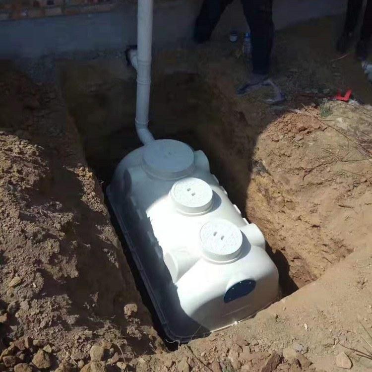 河北伟安玻璃钢化粪池1、1.5、2、2.5立方家用模压化粪池生产加工
