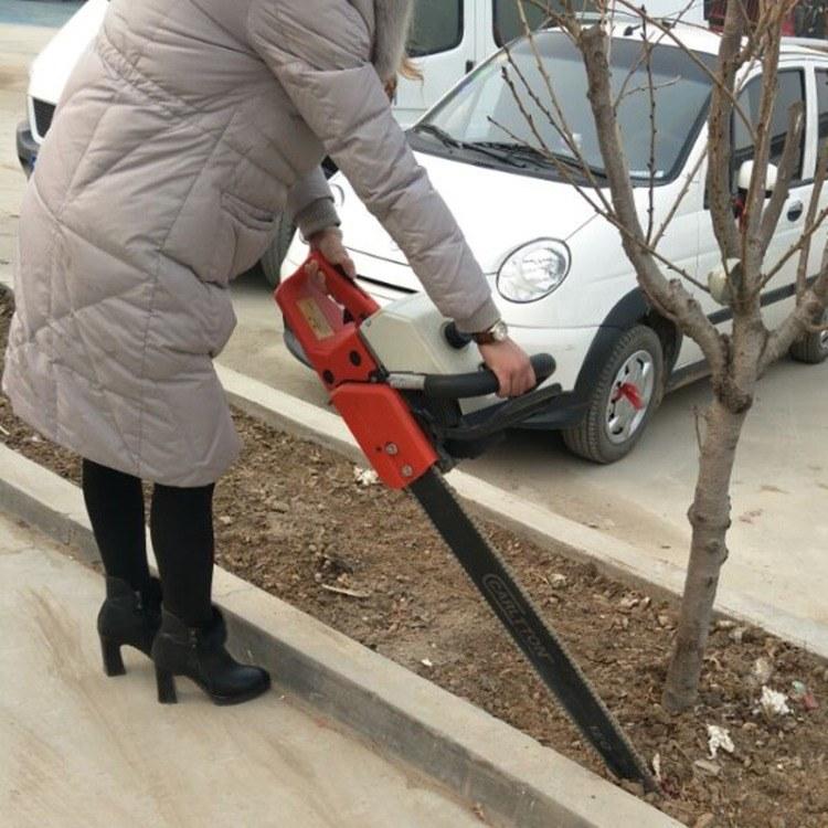 手提小型移树机 链条式汽油挖树机 果树苗带土球移栽机