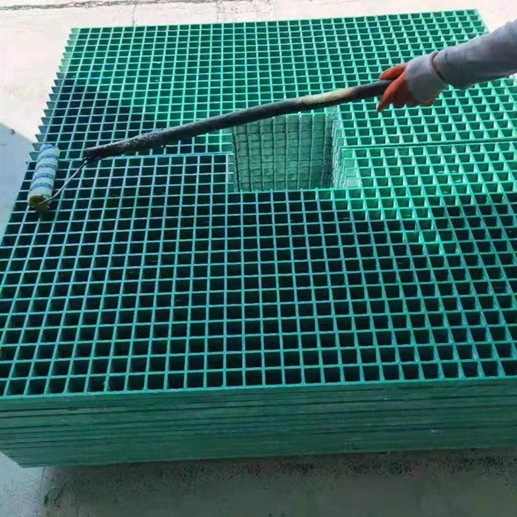 河北伟安玻璃钢格栅 树池格栅树篦子现货供应