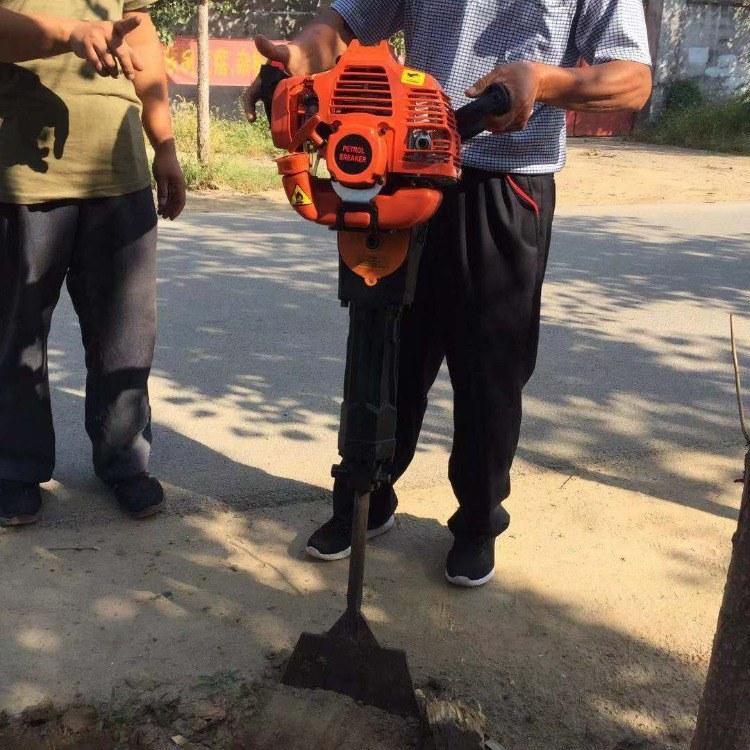 富强 小型便携式挖苗机 铲式起苗设备 断根设备 锯齿式娃挖树机