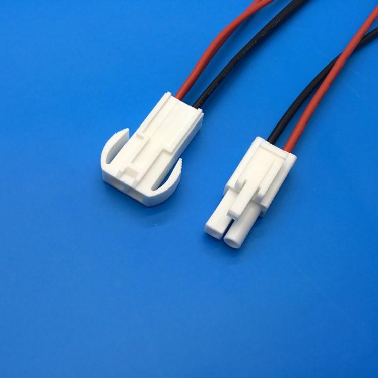 加工定做VH3.96-3P开关端子线插头线 3PIN公母空中对接线材