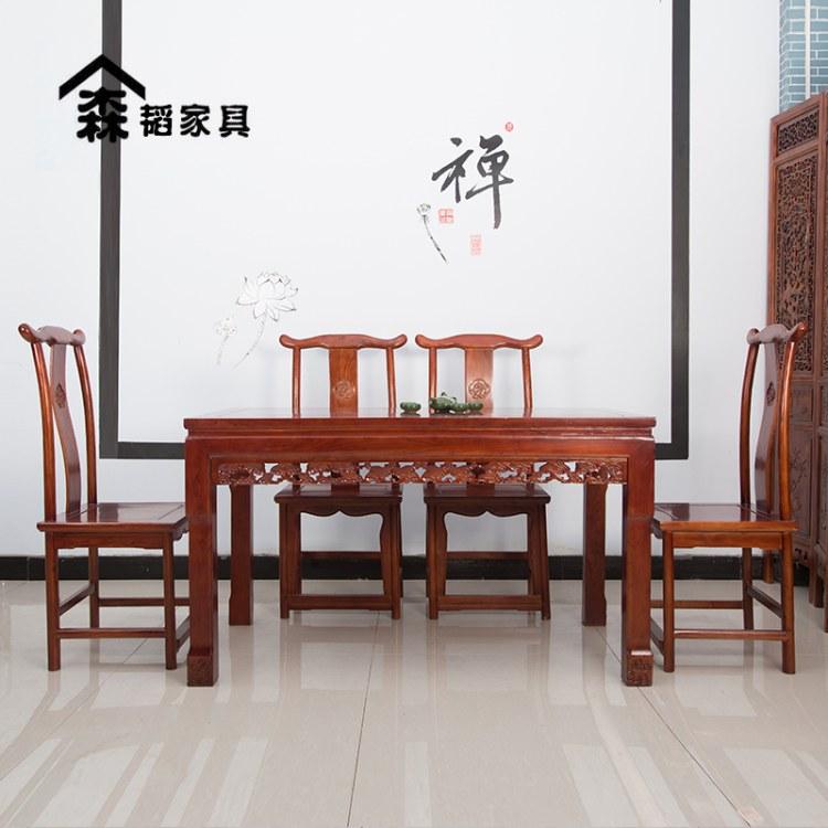 餐桌八仙桌椅子家用桌子古典家具实木家具厂家直销