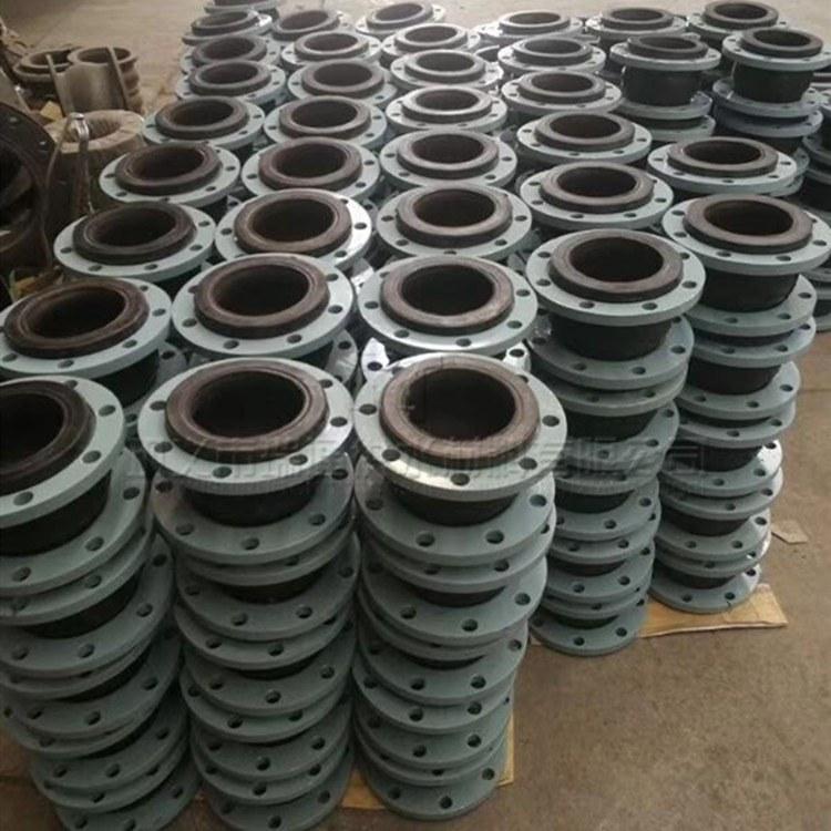石灰浆液的管道专用橡胶接头 耐磨橡胶软接头 耐酸碱橡胶膨胀节 更换首选