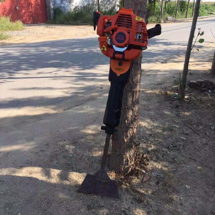 富强 树木断根移栽机 汽油动力起树机 苗圃挖树机