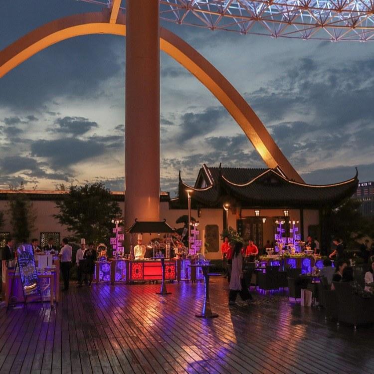 广州尊尚厂家定制自助餐台 移动自助餐台 西餐布菲台