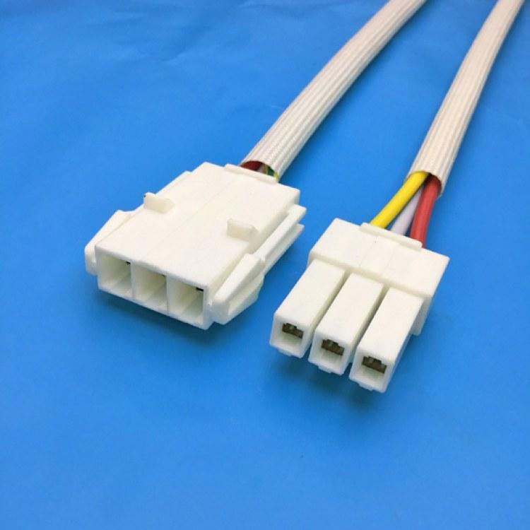 VL6.2公母端子线 兰博伟业专业线束制造厂直销 定制各种线材 S端子线束 杜邦双头刺破对接冷压