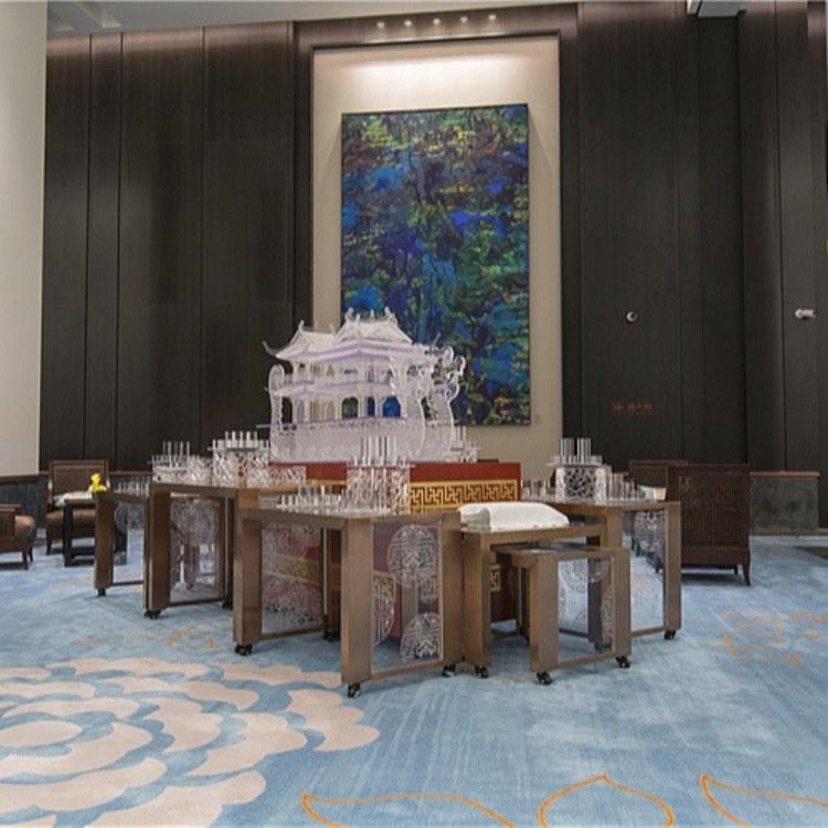 广州尊尚厂家定制 布菲台 组合布菲台 酒店自助餐台