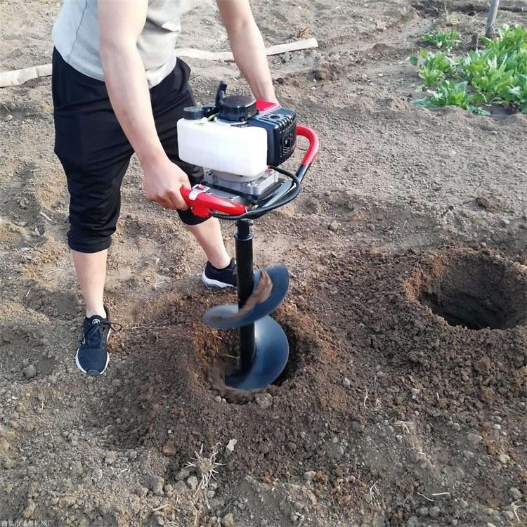 批发植树造林挖坑种树机四轮车带大马力挖坑机 专业生产挖坑机厂家报价