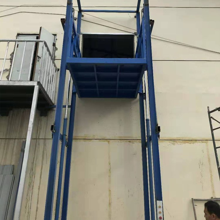 3/6/20吨电动升降平台 液压升降货梯 定做厂房链条式货物输送平台登高品牌厂家