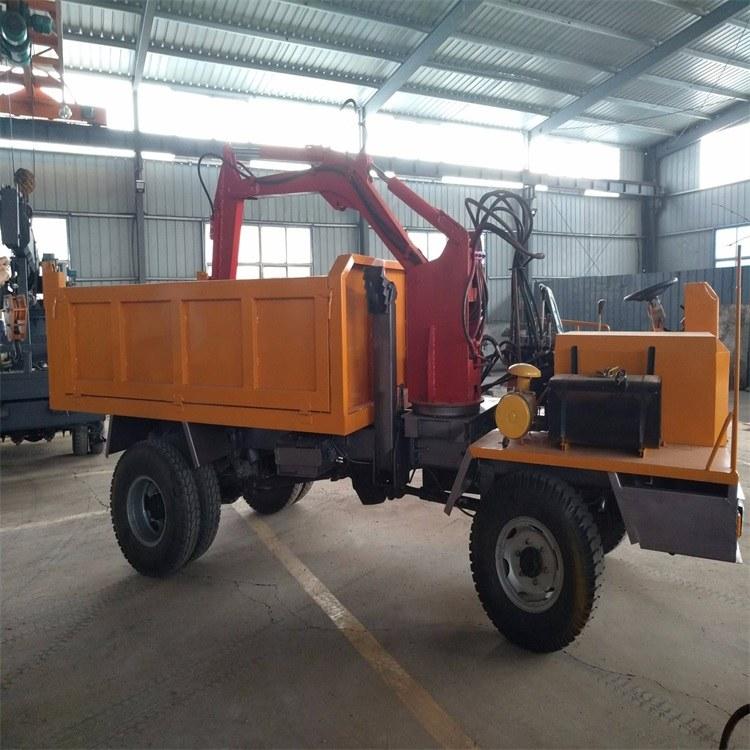 挖机四不像随车挖 随车挖运输车 12吨后驱随车挖