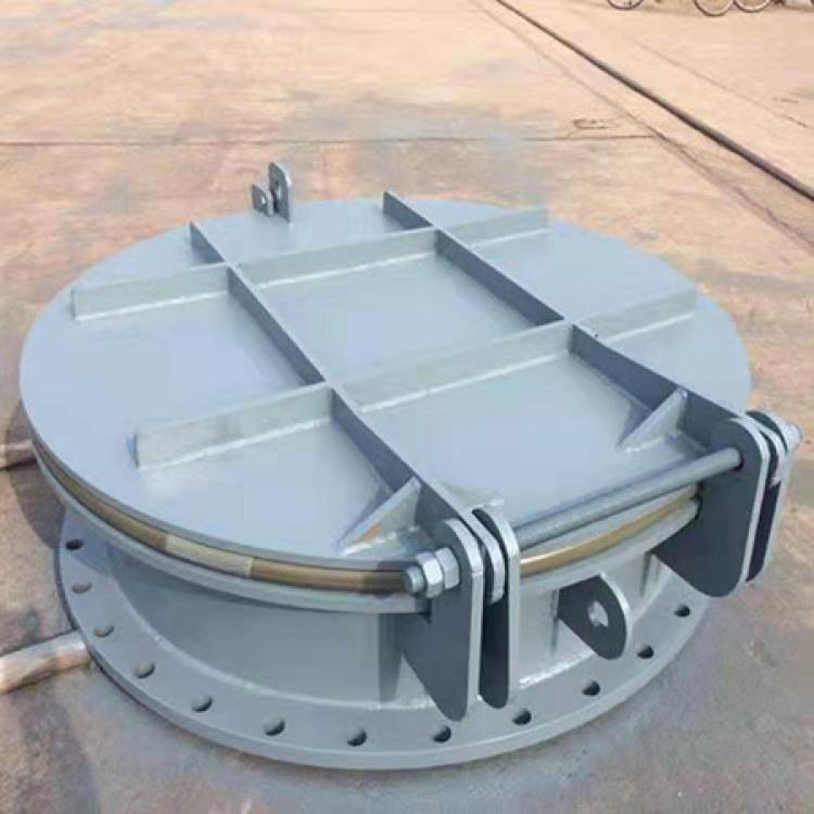 华硕 不锈钢复合拍门 hdpe铸铁拍门 生产厂家 可定做