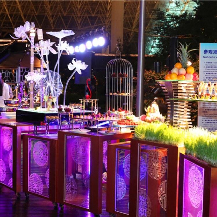 广州尊尚厂家定制 移动布菲台 酒店布菲台 酒店自助餐台