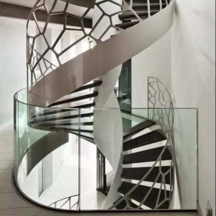 建安楼梯扶手,无框全玻璃扶手