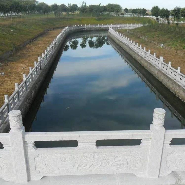 户外石栏板 河道石栏杆 宇昊石雕 国道雕栏板 青石石护栏