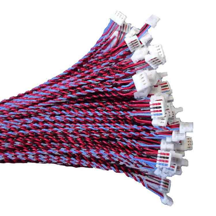 刺破端子线 兰博伟业专业线束制造厂直销 定制各种刺破线材 S端子线束 杜邦冷压双头对接连接线