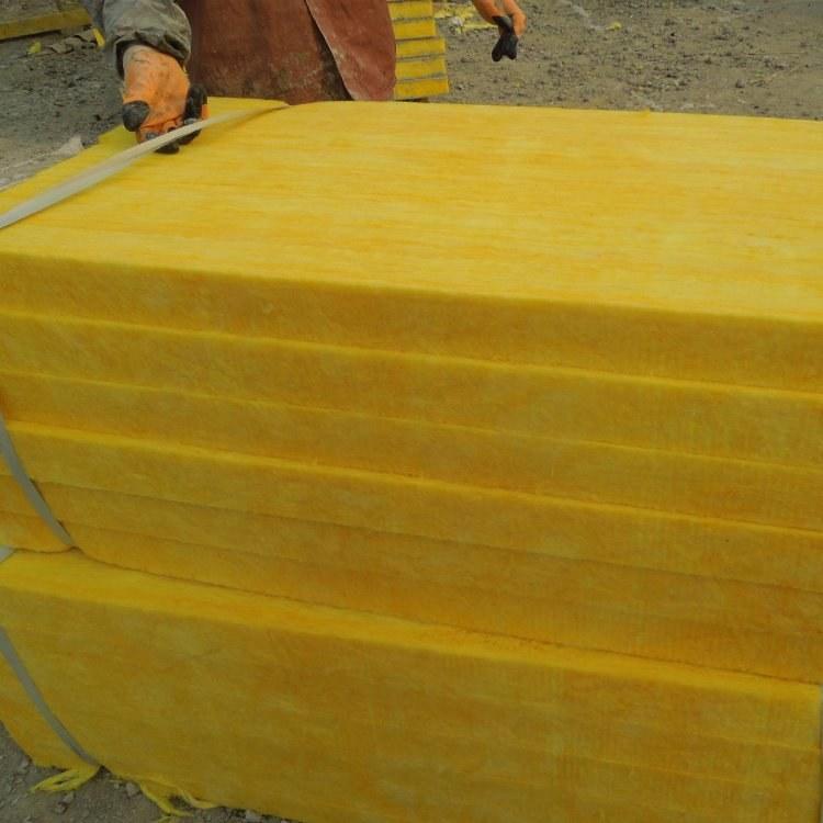 廊坊永暖厂家供应 隔音玻璃棉板 A级防火玻璃棉 用于减震吸声减少噪音污染厂家直销现货供应