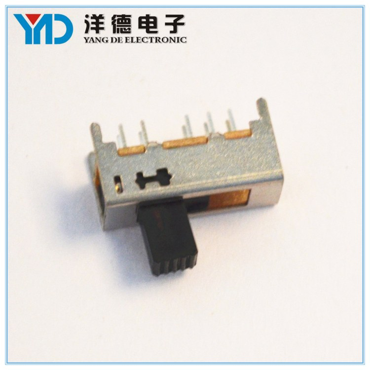 厂家直销电子玩具单极双位拨动开关 SS12F23电镀银拨动开关可定制