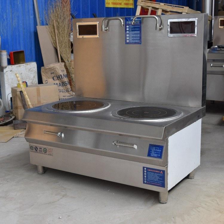 科尼商用电磁炉 30千瓦双眼电磁低汤灶  厂家直销 节能环保