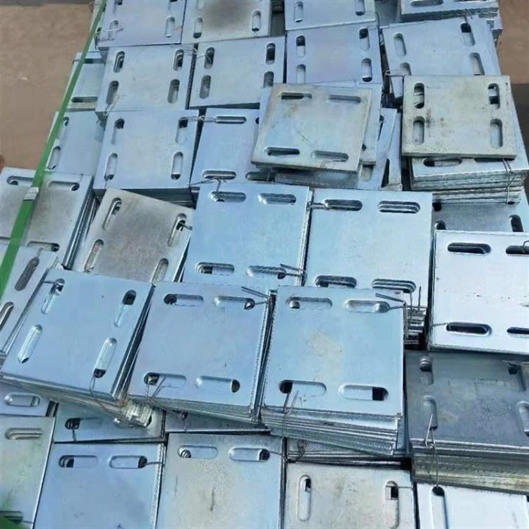 河北厂家供应热镀锌预埋钢板   预埋件专用垫板定做