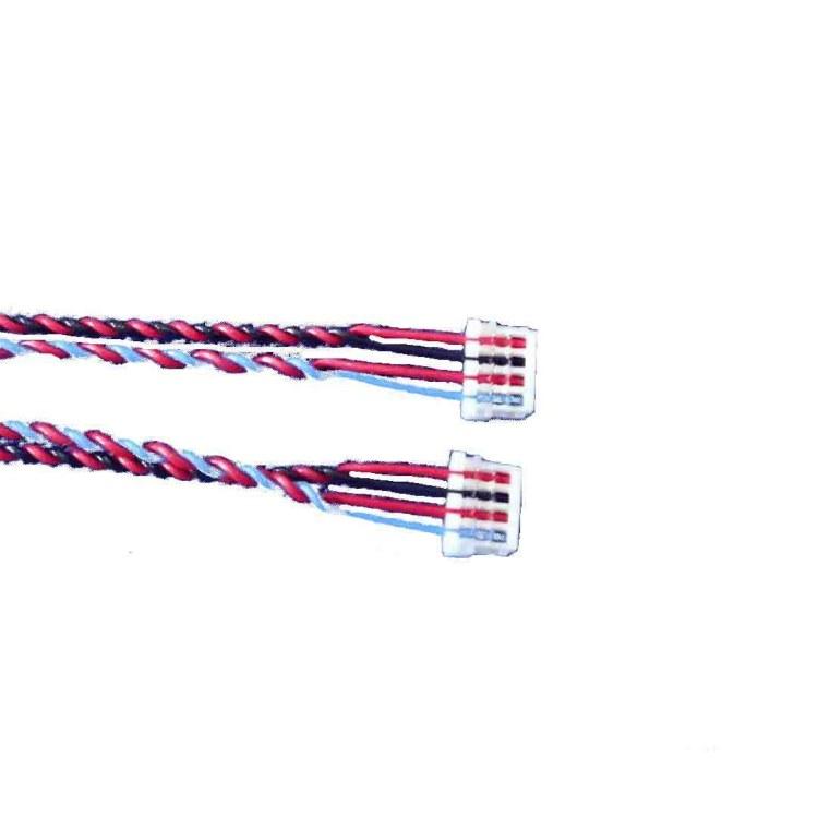 刺破端子线 兰博伟业专业线束制造厂直销 定制各种刺破线材 S端子线束 杜邦冷压双头对接线