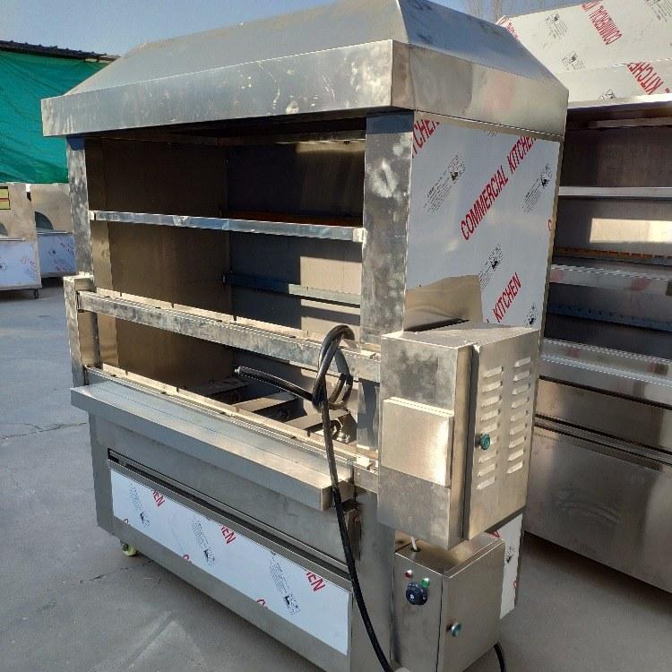 科尼烤生蚝扇贝烤炉 无烟烧烤炉 2米燃气巴西烤肉炉   厂家直销 无烟环保