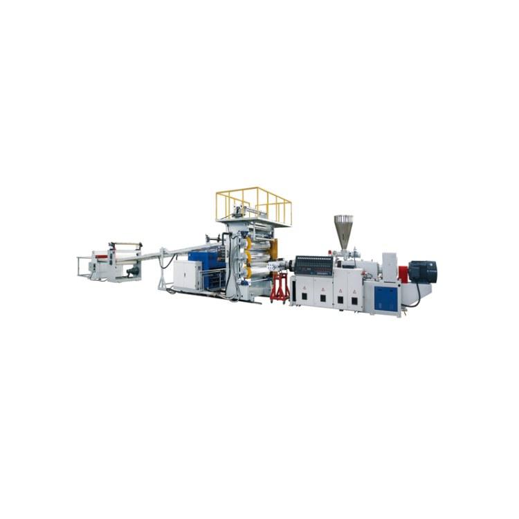 PVC仿大理石挤出生产线 江苏PVC仿大理石挤出生产线 赛旺机械 可定制