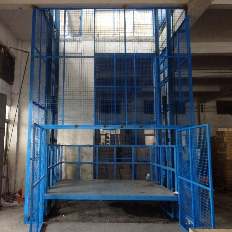 厂家直销 工厂仓库车间导轨式工业货梯 小型工业电梯