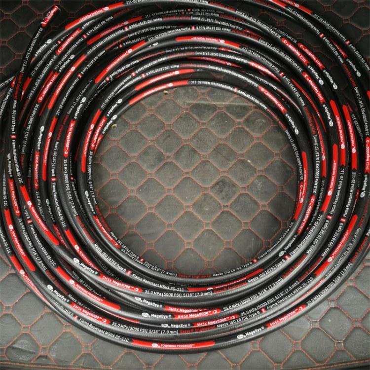 厂家直销美国盖茨5M5K 35MPA液压软管 盖茨液压管 固特异高压胶管 进口胶管