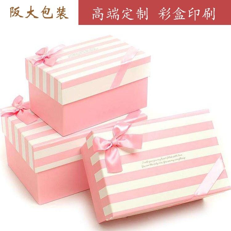 阪大上海彩盒定制礼品盒飞机盒手提纸箱彩盒上海彩盒印刷厂