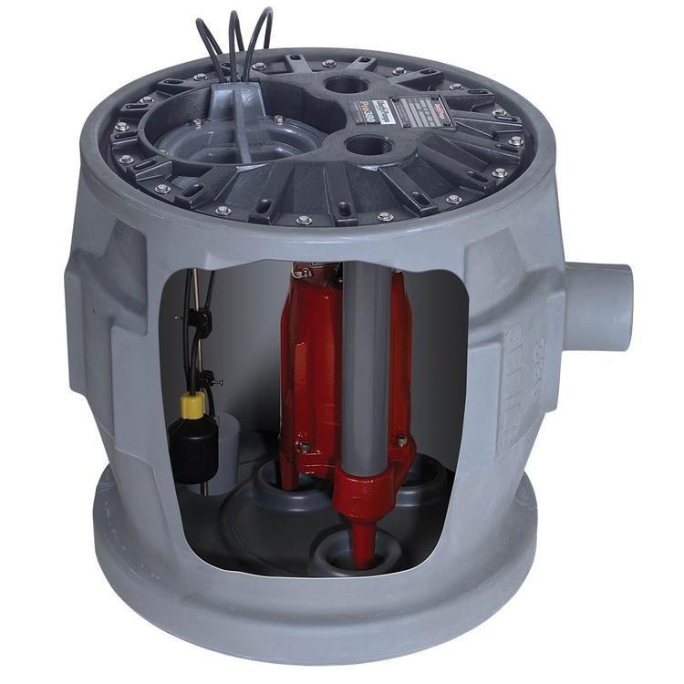 美国利佰特P380污水提升器  污水提升泵 别墅/商场/会所地下室排污