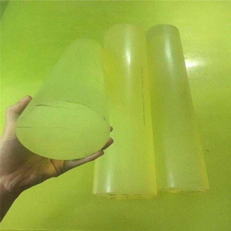 优越厂家直销优力胶棒 牛筋棒 PU棒板 减震高耐磨优力胶棒 聚氨酯板 弹性橡胶棒  PU棒板零切加工