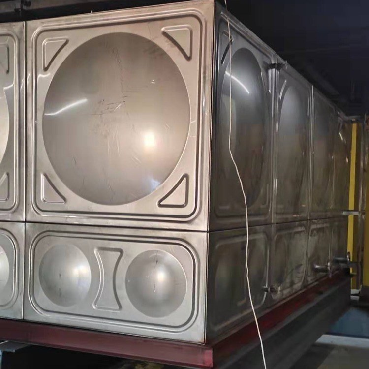 玻璃钢水箱1到1000立方 玻璃钢保温水箱 方形式 组合拼装式
