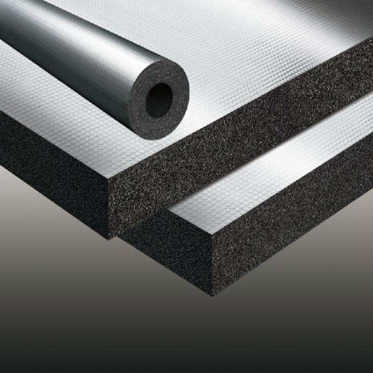 批发定做空调专用橡塑板 保温隔热材料