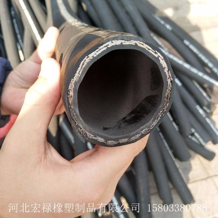 宏禄橡塑供应钢丝缠绕编织液压胶管  液压油管