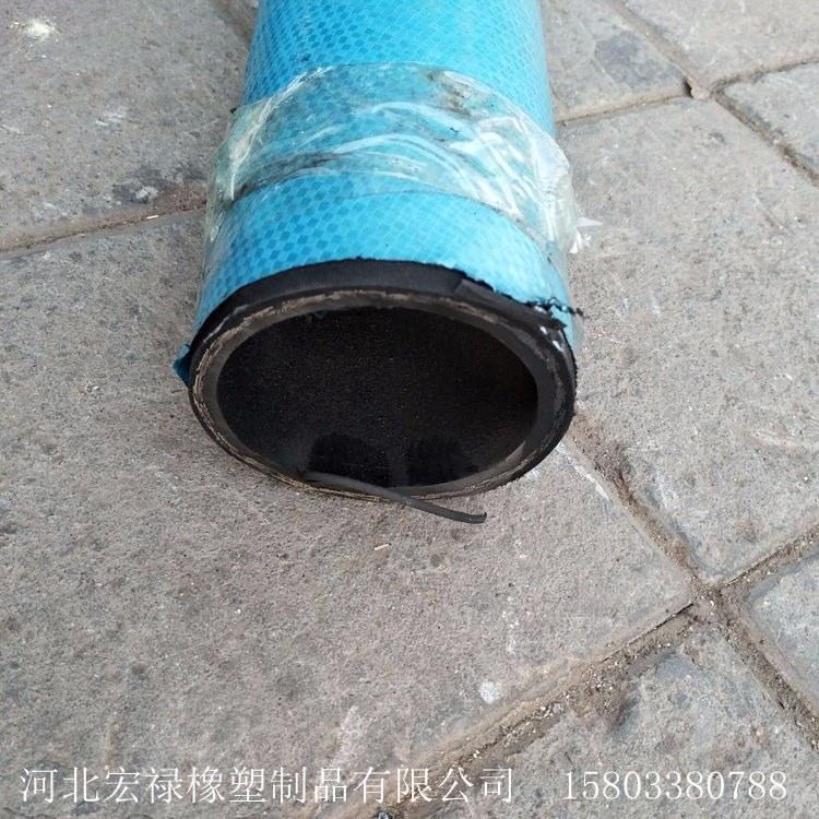 景县供应工程机械高压胶管    液压油管  大口径高压油管宏禄厂家