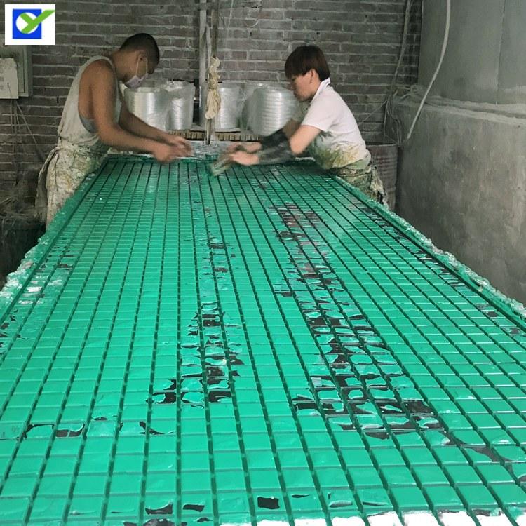 河北欧意供应现货洗车房玻璃钢格栅  树篦子 玻璃钢花纹盖板