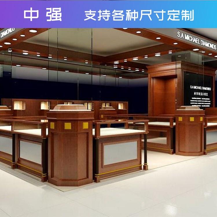 展柜柜子展示柜落地化体验区制作手机立式方形工艺产品玻璃柜台中强